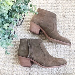 Madewell Janice Suede Ankle Bootie